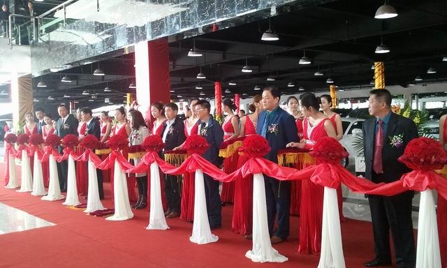 炫舞会展执行锦大车市开业活动