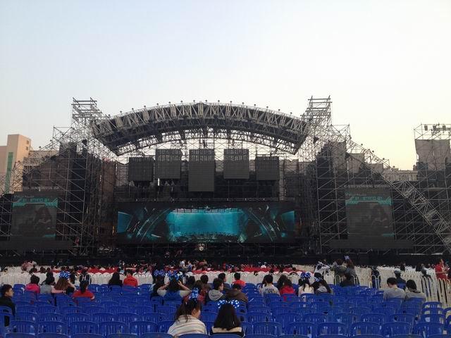 炫舞会展执行五月天演唱会